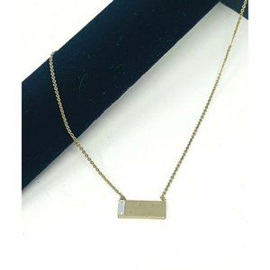 Silpada KR Crossbar Necklace Swarovski Crystal